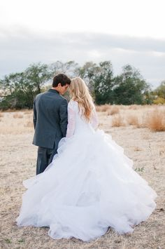 #wedding #dress #sleeves #modest #Mormon #lds #temple #lace