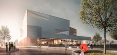 Gallery - schmidt hammer lassen Breaks Ground on Ningbo Central Library - 1
