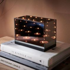& k amsterdam Reflection Theelichthouder - Lilly is Love Candle Set, Candle Jars, Amsterdam, Interior Accessories, Home Interior Design, Interior Inspiration, Reflection, Decorative Boxes, Xmas