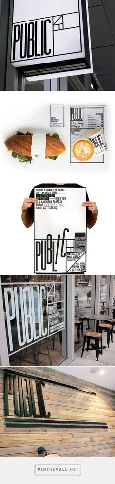 Public Cafe Branding by Black Squid Design | Fivestar Branding – Design and Branding Agency & Inspiration Gallery