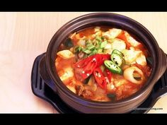 How to make SPICY TOFU STEW ( SOON DU BU ) 순두부   Shop Korean Ingredients at www.crazykoreanshopping.com  #koreaningredient #koreancooking #koreanfood