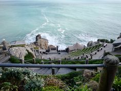 Minack Theatre in Porthcurno, Cornwall. great but very cold, need your winter woollies even in summer