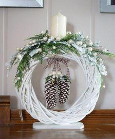 Новогодний декор свечей из простых и доступных материалов | Цветик-семицветик