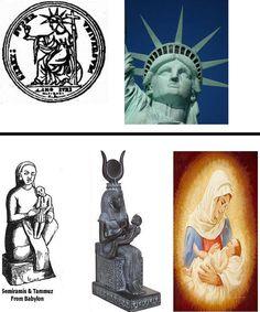 statue of liberty semiramis