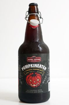 For truly exceptional pumpkin beer, turn to Howe Sound Pumpkineater Imperial Pumpkin Ale ($14), a malty, chocolate-rich, strong beer with pronounced notes of barley, freshly roasted pumpkin, hops, cloves, cinnamon, nutmeg, and star anise.     Photo: Nicole Perry