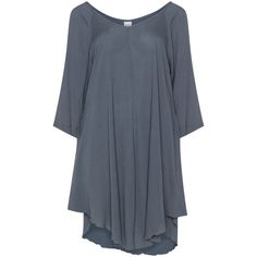 Luna Serena Grey Plus Size Printed tunic (3.855 RUB) via Polyvore featuring tops, tunics, grey, plus size, a line tunic, womens plus tunics, plus size long tunics, grey tunic и gray tunic