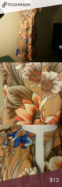 Original Hawaiian dress Beautiful Floral Hawaiian dress Dresses Midi