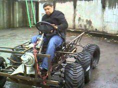 самодельный полноупровляемый 6х6 пробный выезд - YouTube Agriculture Machine, Homemade Tools, Go Kart, Scrambler, Toys For Boys, Atv, Cool Cars, Motors, Tractors