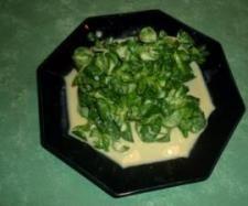 Rezept Feldsalat in Honig-Senf-Dressing ( WW ) von Kochsuse - Rezept der Kategorie Vorspeisen/Salate