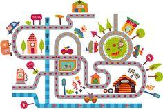 vinilos vehiculos infantiles png - Buscar con Google