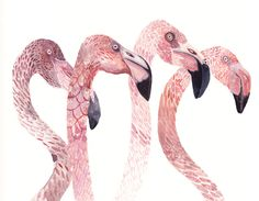 Flock Original painting