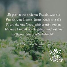 Es gibt keine anderen Fesseln wie die Fesseln von Illusion keine Kraft wie die Kraft die uns Yoga gibt; es gibt keinen höheren Freund als Weisheit und keinen größeren Feind als Selbstsucht.    Gheranda Samhita   #brunnthal | #erleuchtung | #gesundleben | #hohenbrunn | #inspiration | #inspiriert | #instayoga | #meditation | #myoga | #namaste | #neubiberg | #ottobrunn | #taufkirchen | #unterhaching | #yoga | #yogadeutschland | #yogaeveryday | #yogainspiration | #yogajedentag | #yogajourney…