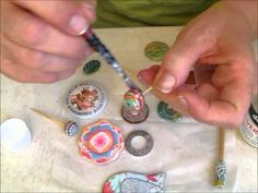 Recommendation: 2 great varnishes glosy and shine to polymer clay - YouTube