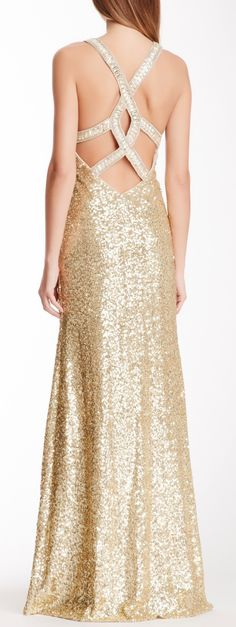 Sequined gown jaglady