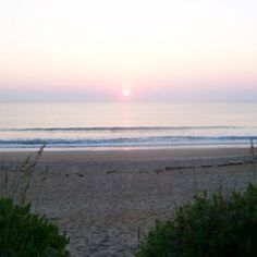 Sunrise on the outerbanks