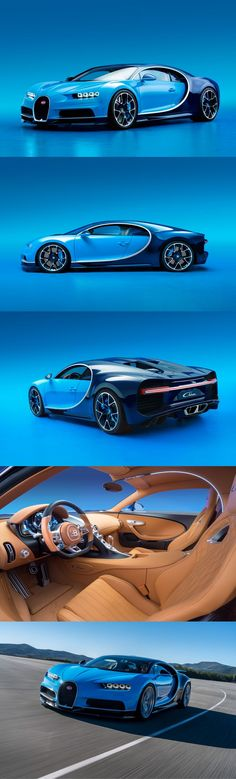 Roughly 1,500 horsepower and 1,180 lb-ft are available from its 8.0-liter, quad-turbocharged W-16 engine—the first production #car ever to generate that much horsepower. #Bugatti says the #Chiron can hurtle from 0 to 62 mph in less than 2.5 seconds on to a top speed of 261 mph (best of luck to anyone who tries). Oh, and we hear it has potential to go even faster.