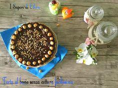 Oggi vi presento un dolce davvero strepitoso, la mia torta al bacio senza cottura facilissima, un dolce senza cottura, veloce e golosissimo