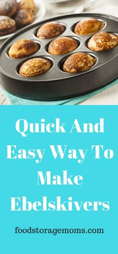 Quick and Easy Way To Make Ebelskivers - Find recipes from your favourite BBC programmes and chefs, or browse by ingredient or dish. With over 13000 recipes you're sure to find the perfect dish. Ableskiver Recipe, Gourmet Recipes, Cooking Recipes, Chard Recipes, Dessert Recipes, Poffertjes Recipe, Pancakes And Waffles, Danish Pancakes, Pasta