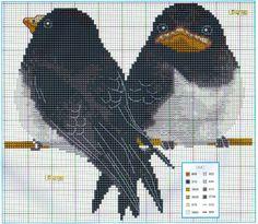Cross Stitch *<3* Birds