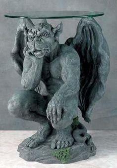 "Gargoyle ""The Thinker"" Table"
