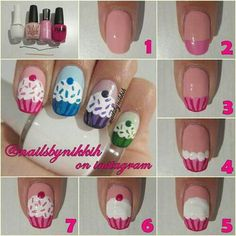 Cup cake fingers!