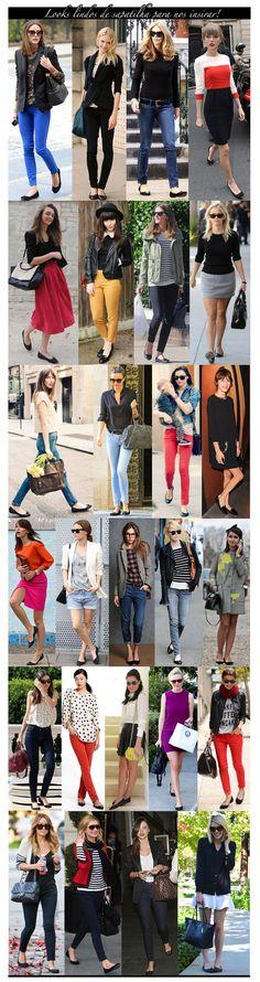 sapatilha preta / basic shoes / black flat outfits / looks