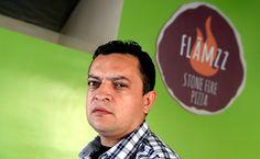 Flamzz Stone Fire Pizza
