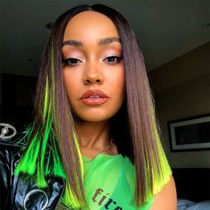 Find images and videos about little mix, green and leigh-anne pinnock on We Heart It - the app to get lost in what you love. Little Mix Leigh Ann, Little Mix Jesy, Little Mix Style, Little Mix Girls, Jesy Nelson, Perrie Edwards, Dvb Dresden, Little Mix Outfits, Hair Goals