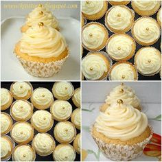 Kreatorta: Citromos muffin Keto Recipes, Cake Recipes, Dessert Recipes, Cheesecake Pops, Christmas Dishes, Cake Cookies, Cupcakes, Fudge, Love Food