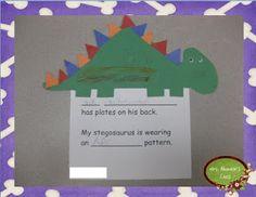 "Mrs. Albanese's Kindergarten Class: A ""ROAR""ing good time with dinosaurs + FREEBIE!"