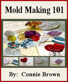Mold Making 101 will assist you in learning some easy and basic mould making techniques. From ceramic mold making to using Castalot to create unique one-of-a-kind moulds. Fused Glass Art, Stained Glass, Mold Making, Clay Making, Glass Fusing Projects, Glass Book, Glass Molds, Glass Design, Homemade Gifts