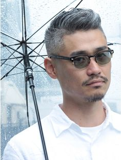 Asian Men Hairstyle, Asian Hair, People Figures, 50 Shades Of Grey, Grey Hair, Gentleman Style, Haircuts For Men, Short Hair Cuts, Vintage Fashion