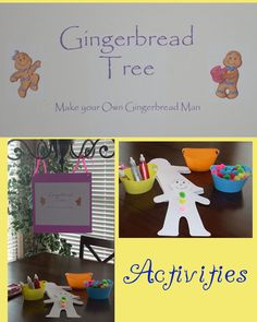 party activities...Gumdrop Mountain, Gingerbread Tree, Licorice Forest, Peppermint Forest, Peanut Acres and Candy Castle