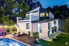 Formabontó teraszok - Szép Házak Paramore, Mansions, House Styles, Modern, Home Decor, Trendy Tree, Decoration Home, Manor Houses, Room Decor
