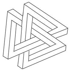 Interlocked triangles