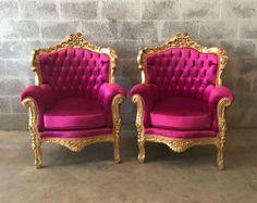 Sofa barroco muebles Bergere sofá antiguo italiano barnizada