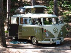 #Bulli on an #Adventure! #Camper #Volkswagen #RoadTrip #Travel #Wanderlust