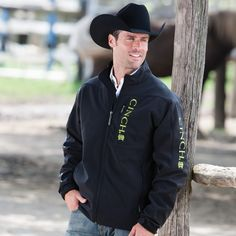 Cinch Lime Bonded Jacket