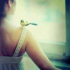 bird on my sholder