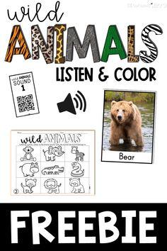Free Listening Activities for Kids