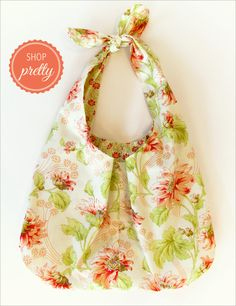 Soft & Stuffable Fabric Shopping Bags: Shop Pretty | Sew4Home