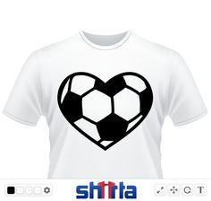 Fußball Herz