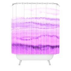 Monika Strigel WITHIN THE TIDES LOVELY LAVENDER Shower Curtain | DENY Designs Home Accessories