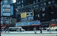 Manhattan: 7th Avenue toward 43rd Street (1952