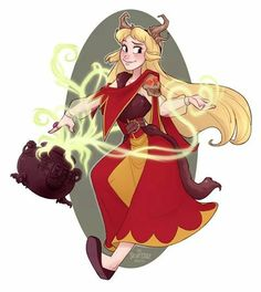 Necromancer Eilonwy    Best of Disney art by Skirtz