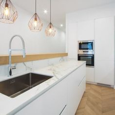 Decoration, Kitchen Island, Kitchen Design, Sink, Sweet Home, Madrid, Table, Projects, House