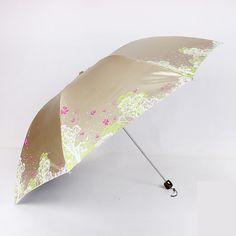 Umbrella Rain Women Black China Big Size Paraplu Parasol Folding Sun Beach Windproof Anti UV Waterproof Umbrella Fabric QQG128 #Affiliate