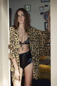 Kate and the Gypsies Cheetah Kimono - Spell Designs