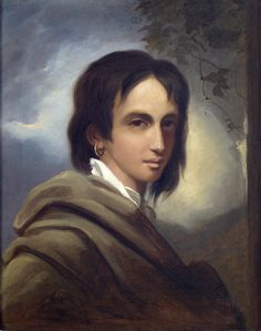 """""""A Fancy Head, called Princess Caraboo of Javasu"""" by Thomas Barker (1817) at the Holburne Museum, Bath - From the curators' comments: """"'Princess Caraboo' was really a cobbler's daughter from Devon called Mary Baker, who arrived one day in the spring of 1817 at Knole Park near Bristol.  By speaking a made-up language and not a word of English, she convinced the lady of the house, Elizabeth Worrall, that she was a lost noblewoman from the East Indies."""" She was eventually exposed as a fraud."""