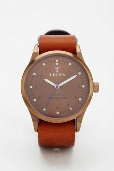 Lightweight Triwa Lansen bronze watch #urbanoutfitters